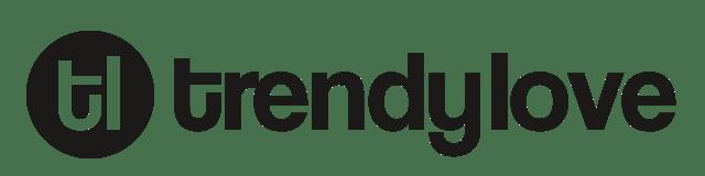 Company Logo - Trendy Love black version