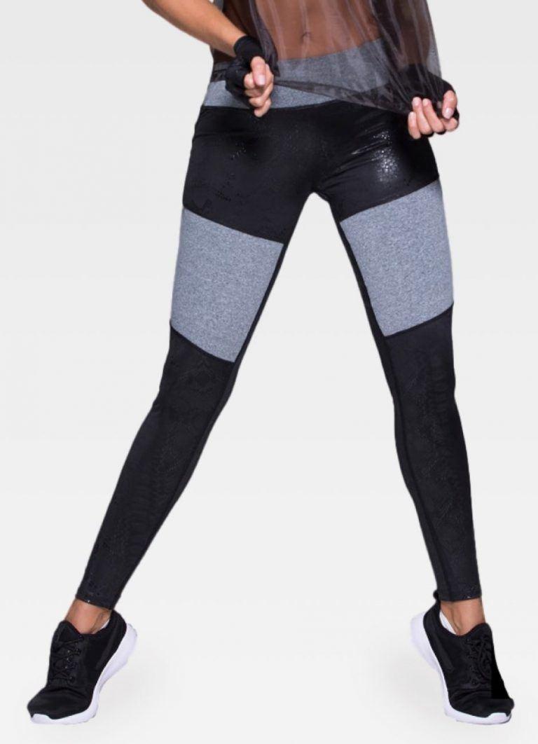 Blended Textures Leggings - Front